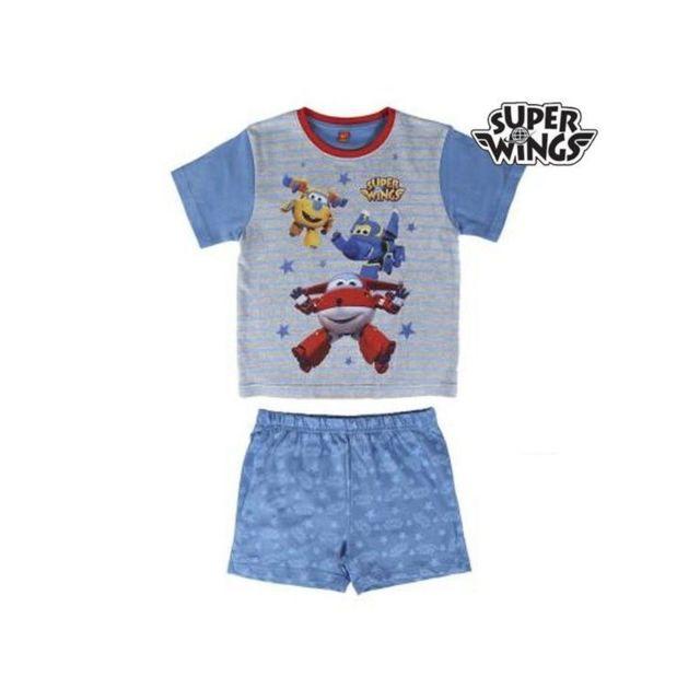 81fe15e100476 Marque Generique - Pyjama D Été Super Wings 1980 taille 3 ans ...