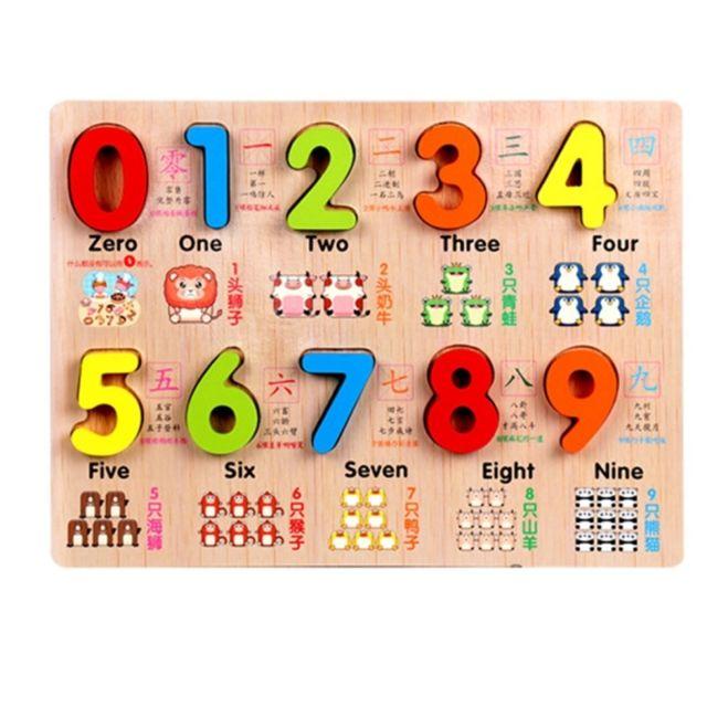 wewoo jeu d 39 veil b b enfants puzzles en bois jouets. Black Bedroom Furniture Sets. Home Design Ideas