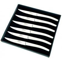 Aunain - Coffret 6 couteaux table tout inox Thiers Au Nain