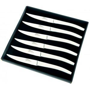 aunain coffret 6 couteaux table tout inox thiers au nain pas cher achat vente couteau. Black Bedroom Furniture Sets. Home Design Ideas