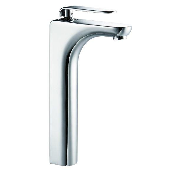 g n rique mitigeur de lavabo haut robinet pour vasque design en laiton chrome pas cher achat. Black Bedroom Furniture Sets. Home Design Ideas