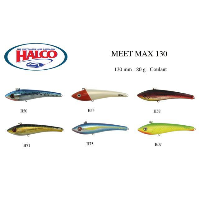 LEURRE HALCO MEET MAX 130 YELLOW FIN