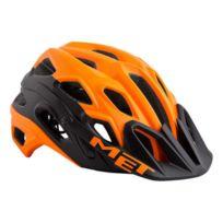 Met - Casque Lupo orange noir