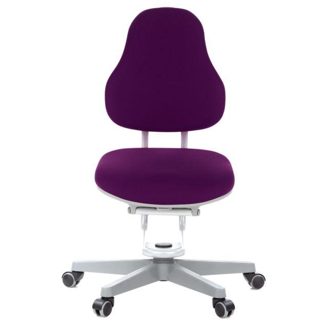 Bureau Pivotant Atlantic En Rovo Tissu Buggy Violet Chair Enfant Siège De I9Y2EDHW