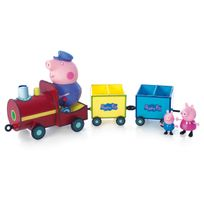 Peppa Pig - Train avec 3 personnages - 4892