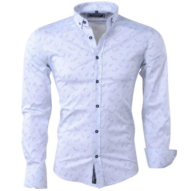 homme Carisma 8410 pas Chemise fashion blanc Chemise cher pour FFqUBt