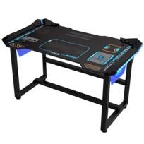 E-BLUE - Bureau Gamer éclairage led pour Gaming et eSport EGT536