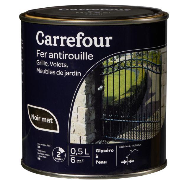 Carrefour Peinture Fer Antirouille 0 5l Pas Cher Achat