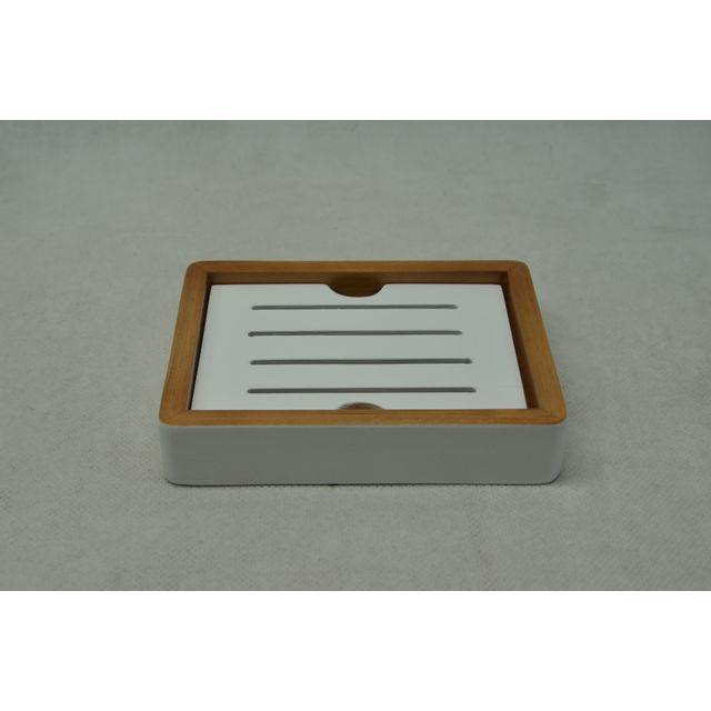 carrefour porte savon bambou b1901d marron pas cher achat vente accessoires de salle. Black Bedroom Furniture Sets. Home Design Ideas