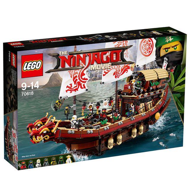 Lego - NINJAGO - Le QG des ninjas - 70618