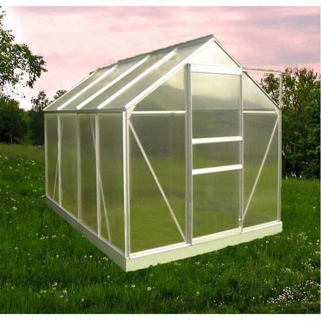 Chalet jardin prima 106 serre de jardin 6 07 m pas cher achat vente serres en verre - Serre de jardin carrefour ...