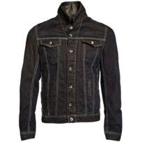 Gov Denim - Veste en jean urbain Noir Td_1011 S