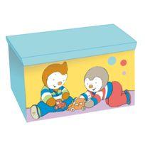 Fun House - T'Choupi coffre à jouets souple