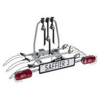 Porte-vélos 3 vélos basculant sur attelage Saffier