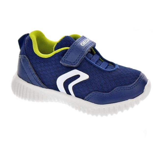 Geox - Chaussures Garçon Baskets modele Wavines - pas cher Achat ... 3e89075c82c0