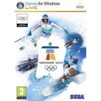 Sega - Vancouver 2010 : Le Jeu Officiel des Jeux Olympiques