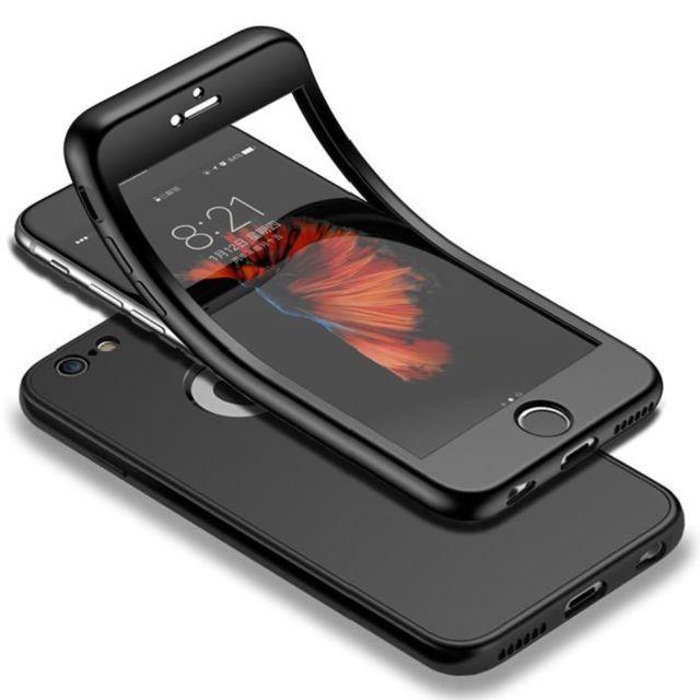 Coque Silicone 360 pour iPhone 11 Pro Max Etui de Protection integrale Little Boutik Couleur :