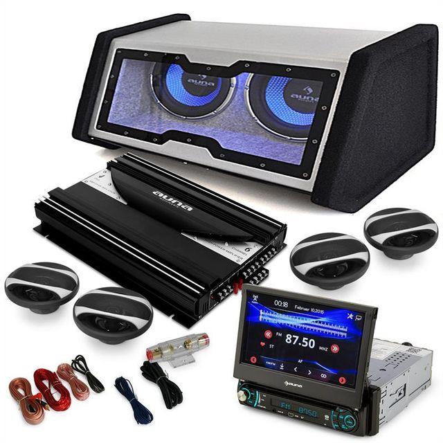 ELECTRONIC STAR auna 4.1 MovieMedia Set Hifi voiture autoradio multimédia vidéo enceintes ampli Electronic-Star