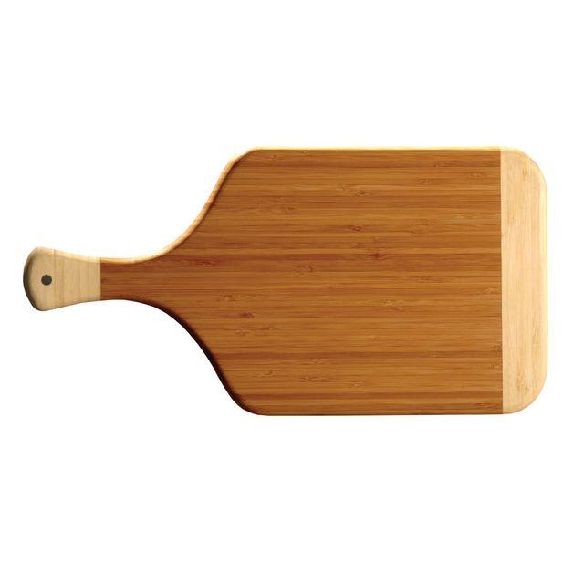 Totally Bamboo Planche bistrot en bambou bicolore 38x20cm Plandec
