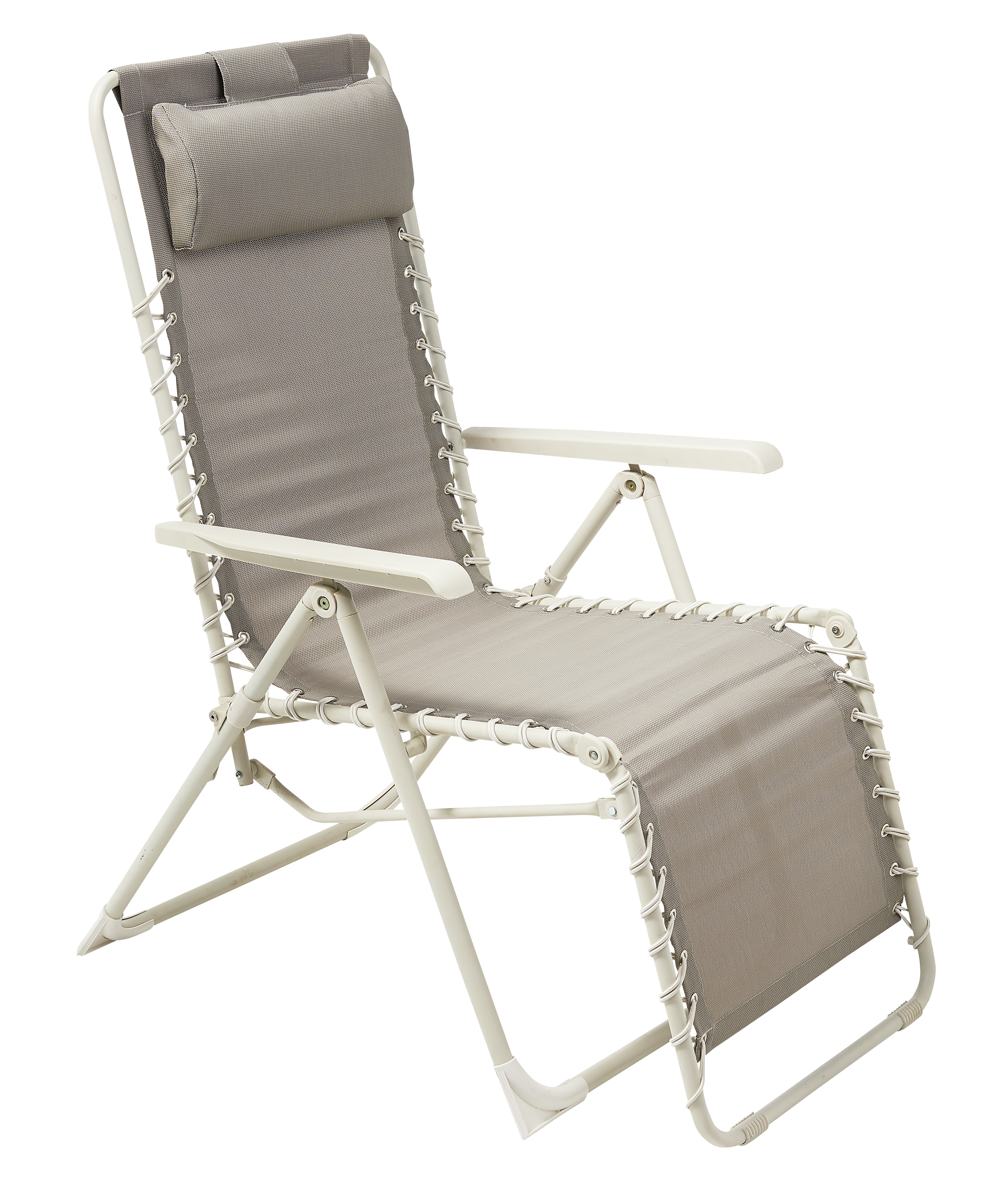 CARREFOUR Fauteuil Relax® multiposition Taupe pas cher