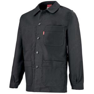 adolphe lafont veste de travail noire pour homme pas cher achat vente v tements b timents. Black Bedroom Furniture Sets. Home Design Ideas