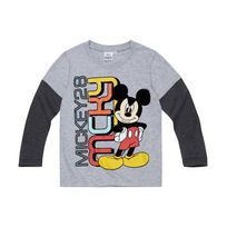Mickey Mouse - Disney Mickey Garcon Tee-shirt manches longues