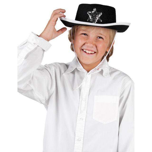 Boland - Chapeau cowboy enfant noir