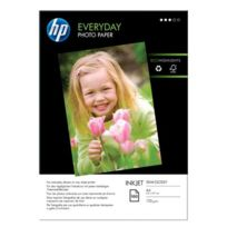 Hp - papier photo semi glace a4 200g q2510a - paquet de 100 feuilles