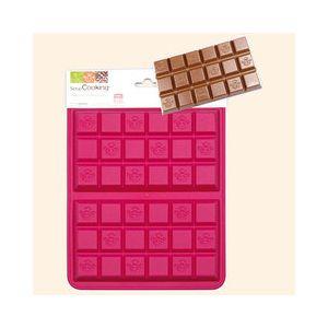 scrapcooking moule 2 tablettes de chocolat pas cher achat vente moule patisserie. Black Bedroom Furniture Sets. Home Design Ideas