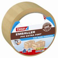 Tesa - Adhésif Pvc Emballer extra fort transparent 40m