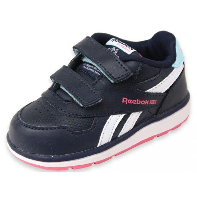 966258fd43eb0 Reebok - Dash Court 2V - Chaussures Bébé Fille Multicouleur 23.5 - pas cher  Achat   Vente Baskets enfant - RueDuCommerce