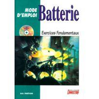 Play Music Publishing - Méthodes Et Pédagogie Mode D'emploi Et Exercices Fondamentaux + Cd - Batterie Batterie