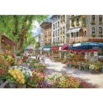 Schmidt - Puzzle 1000 pièces - Sam Park : Paris, le marché aux fleurs