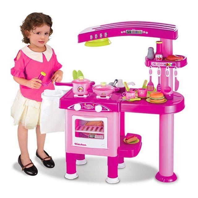Marque Generique Cuisine complète enfant machine à laver, lave vaisselle, four, jouet dînette cuisinière fille Avec cette cuisine , votre petit cuisinier en herbe pourra dévoiler tous ses talents culinaires.Les enfants peuvent se préparer de grands repas