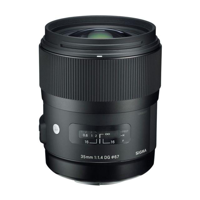 Sigma Objectif 35 mm f/1.4 Dg Hsm Art Pentax Garanti 3 ans