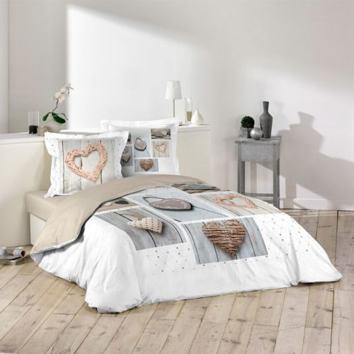 sans marque housse de couette 240 x 260 cm taies dreamer multicolor 260cm x 240cm. Black Bedroom Furniture Sets. Home Design Ideas
