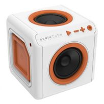 Allocacoc - AudioCube portable blanc