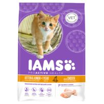 Iams - Kitten & Junior Poulet
