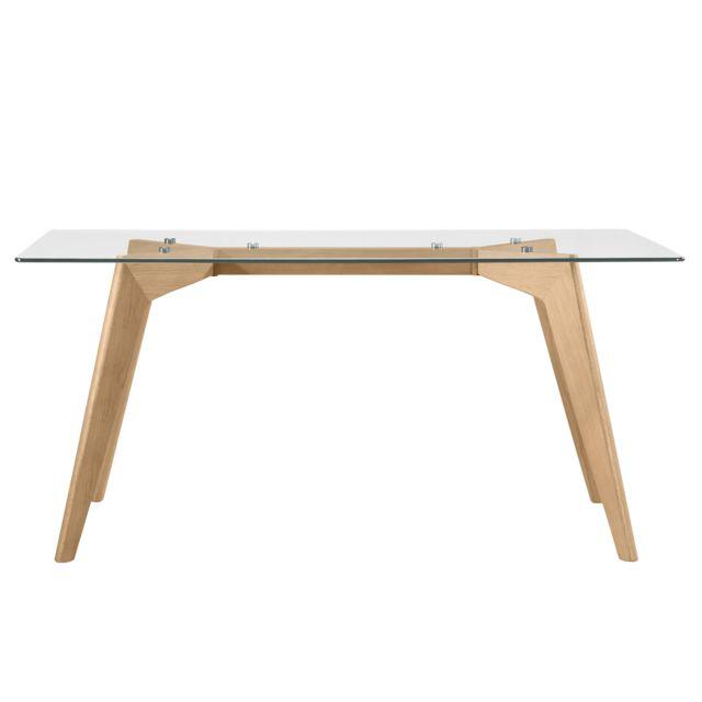 Rendez Vous Deco Table rectangulaire Neiden 160 cm