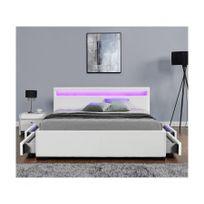 lit 120 x 190 cm avec rangement achat lit 120 x 190 cm avec rangement pas cher soldes. Black Bedroom Furniture Sets. Home Design Ideas