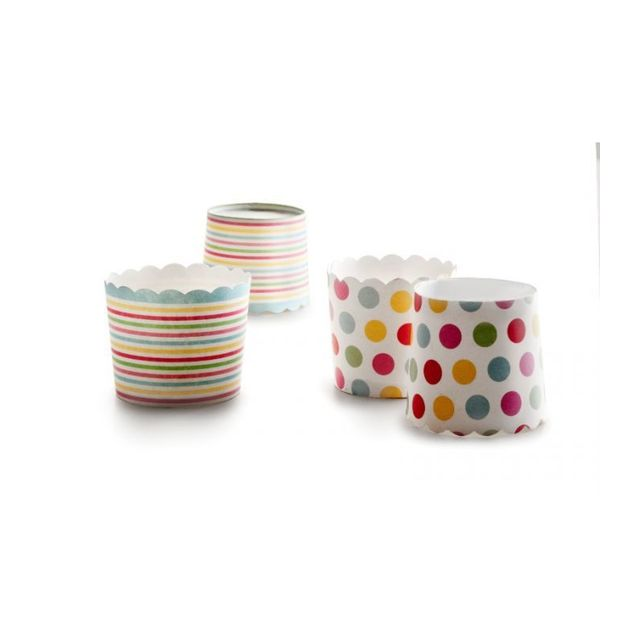 Ibili Capsules A Patisserie Rond Couleurs 20