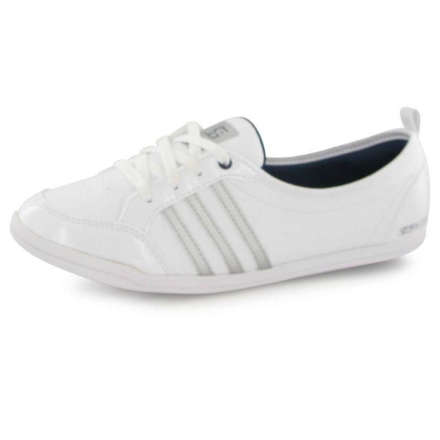 Adidas Piona Sg blanc, baskets mode femme pas cher Achat