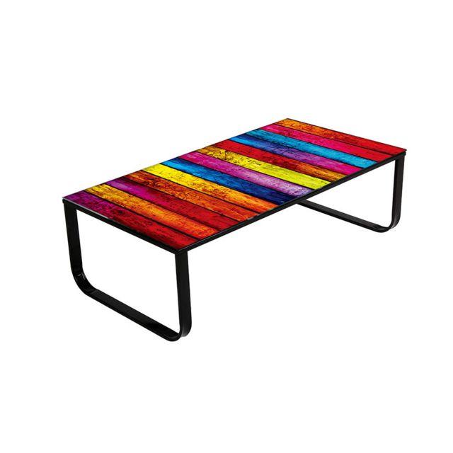 Sofamobili Table basse multicolore design Piano