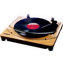 ION - Platine vinyle USB CLASSIC LP WOOD