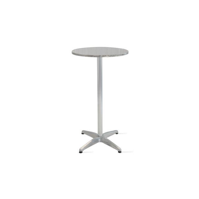 Gris Table bartable haute en de aluminium dCBerxoW