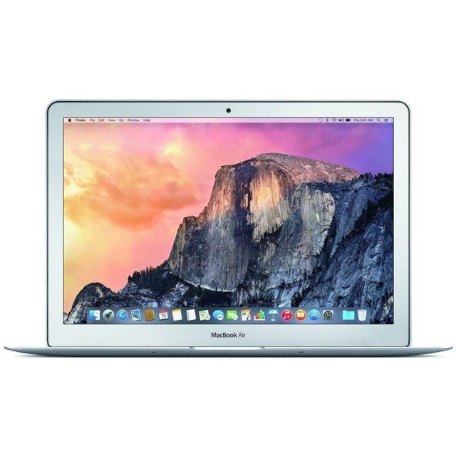APPLE - MacBook Air MD711 - Ecran 11.6 - Intel Core i5 1.4Ghz - RAM 4Gb - SSD 128Gb - OS X El Capitan