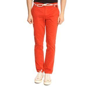 Chino charlie ceinture corde rouge pour homme pas cher for Achat poisson rouge paris 15