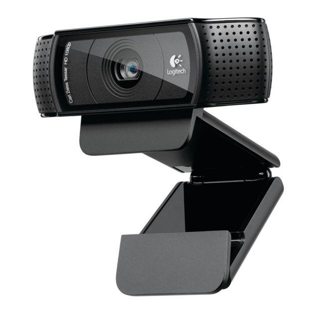 LOGITECH HD Pro Webcam C920 Refresh onnectez-vous avec toutes vos connaissances en qualité Full HD 1080p sur Skype, ou en qualité HD 720p fluide sur FaceTime pour Mac.