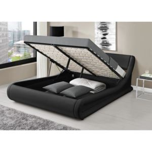 aucune mercure lit adulte 140x190 cm en simili tete de. Black Bedroom Furniture Sets. Home Design Ideas