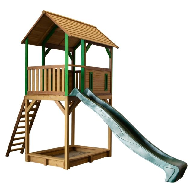 Axi Dory Play Tower brun/vert